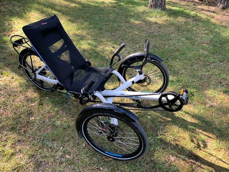 Liegerad Trike Gekko fxs von HP Velotechnik (faltbar)