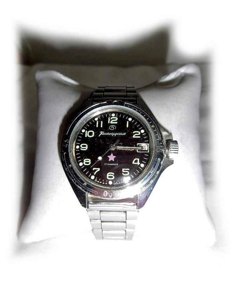 Seltene Armbanduhr von Vostok Komandirskie