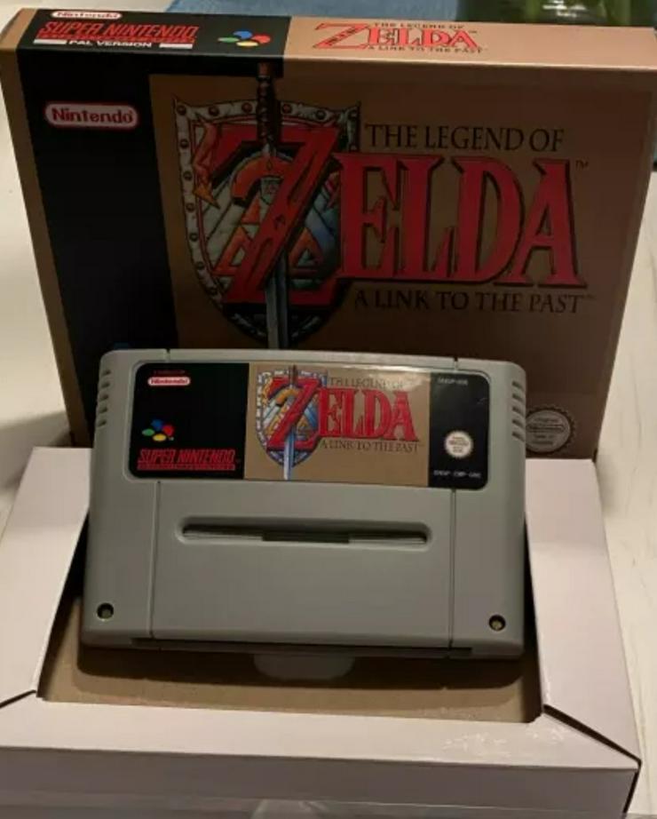 The Legend of Zelda,Secret of Mana 1 und 2 Earthbound,Chrono Trigger für SNES