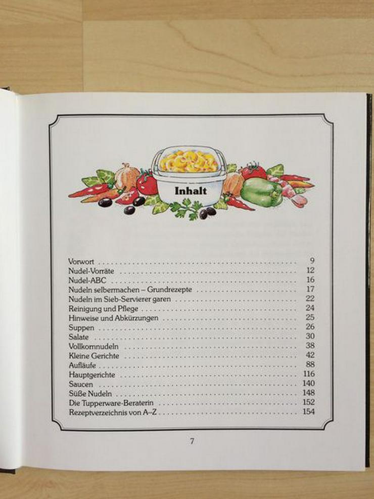 """Bild 2: Tupperware-Kochbuch """"Köstliche Nudelgerichte"""""""