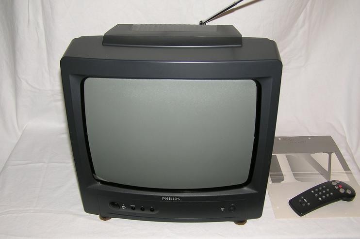 """Philips TV-Gerät – 34 cm/14"""" Bildschirmdiagonale"""