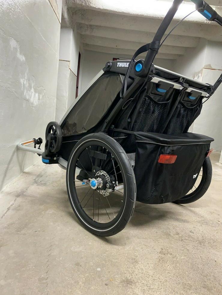 Bild 2: Thule Chariot Sport 2 Black Edition Zweisitzer Kinderanhänger