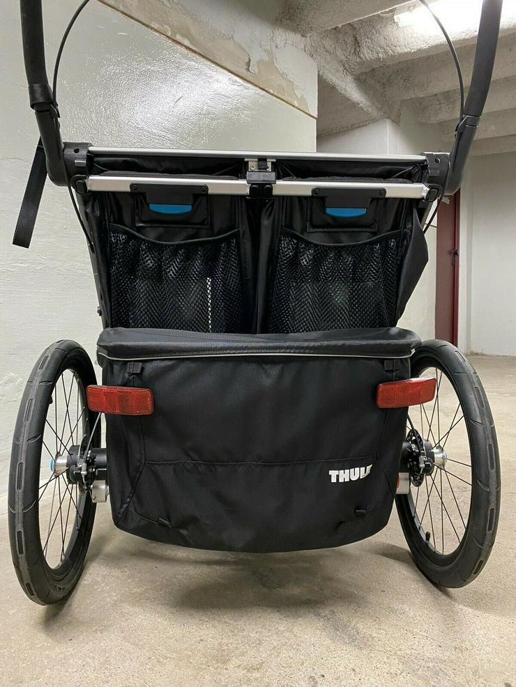 Bild 3: Thule Chariot Sport 2 Black Edition Zweisitzer Kinderanhänger