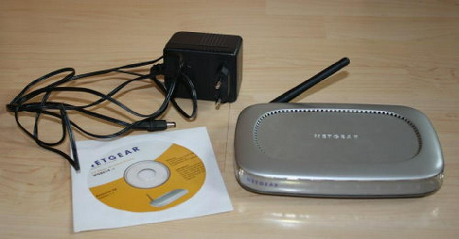 Netgear WGR614 v4 54MBit/s Mbps Wireless LAN Router 4-Port WGR614v4 WLAN DSL Repeater Verstärker