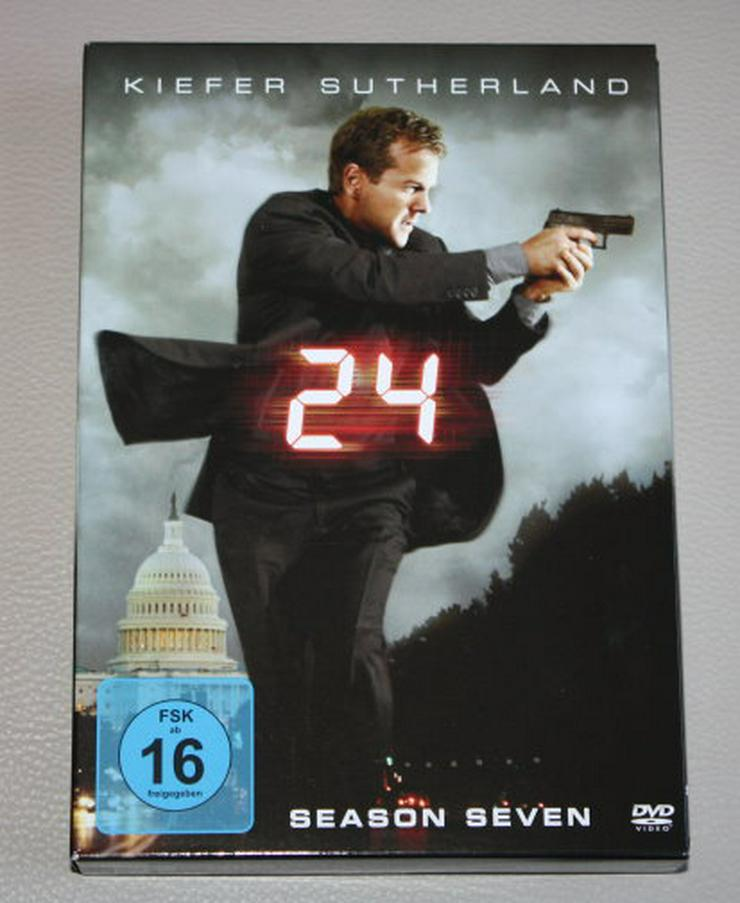 24 Staffel 7 Season Seven Twenty Four Actionserie TV Serie Kiefer Sutherland Box Set 6 DVDs NEU
