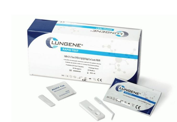 5er Pack Clungene Corona Selbsttest Laien Test Antigen Schnelltest Nasal 5 Stück