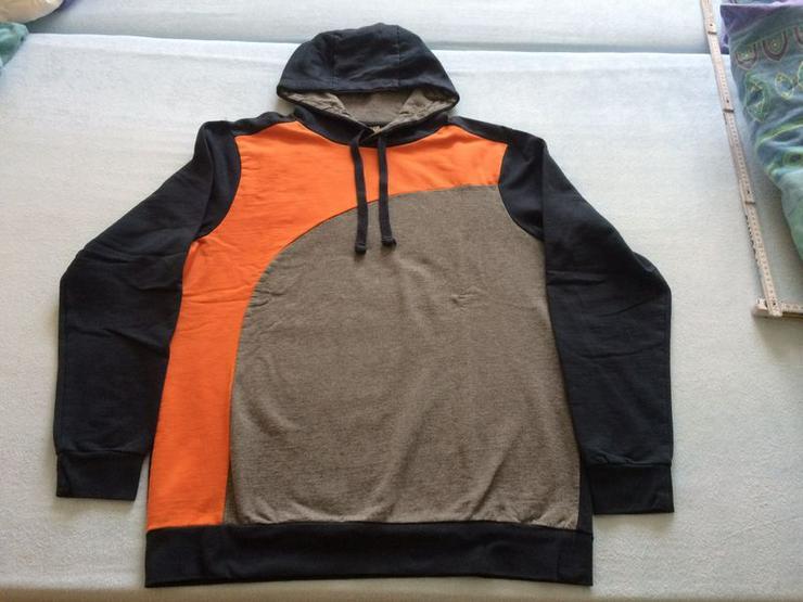 Sweatshirt-Hoody Gr. 52/54 (Gr. 188), neuwertig - Größen 182-188 - Bild 1