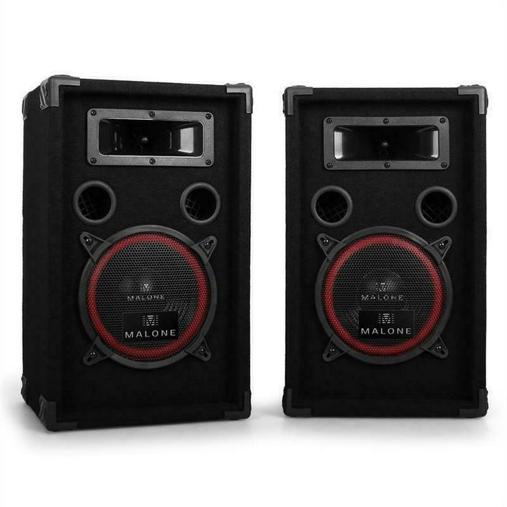 ***TOP!!*** DJ MALONE PARTY LAUTSPRECHER 3-WEGE--SYSTEM 500W PAAR *****NEU!!!*****