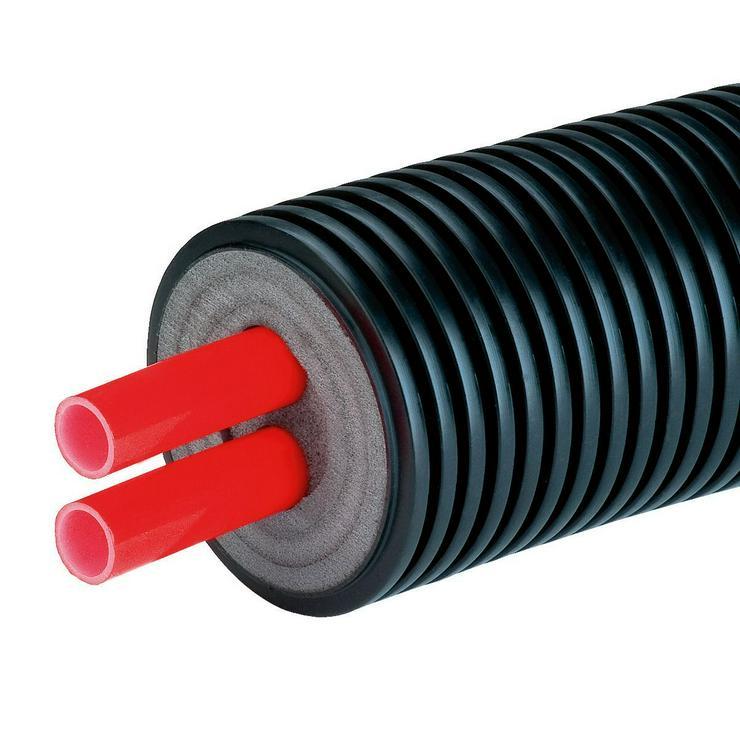 Fernwärme Nahwärme Doppelleitung mit Dämmung verschiedene Größen