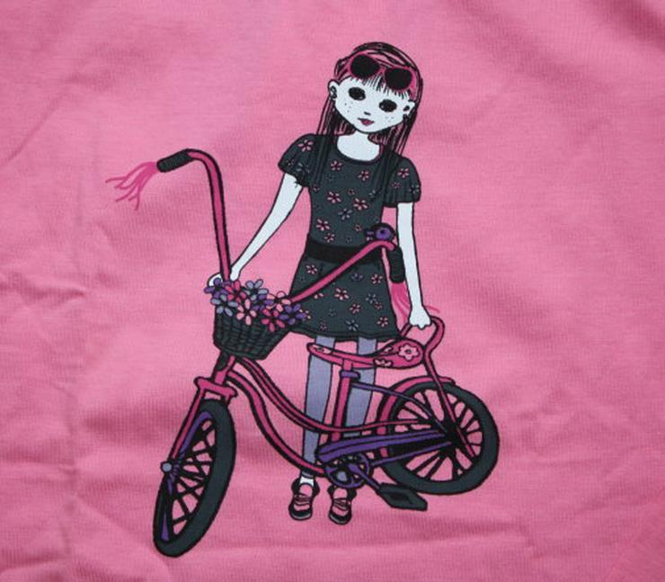 Bild 2: Mädchen Langarm Pullover Kinder Sweatshirt Name it Langarmshirt Longsleeve pink rosa Gr. 122/128 NEU