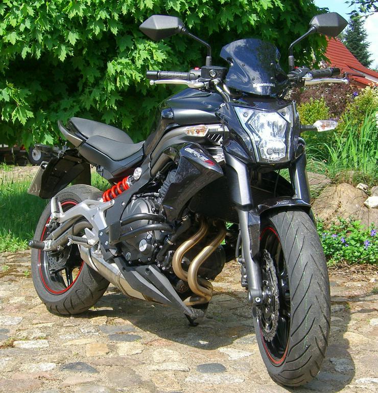 Bild 5: Motorrad Kawasaki (J)