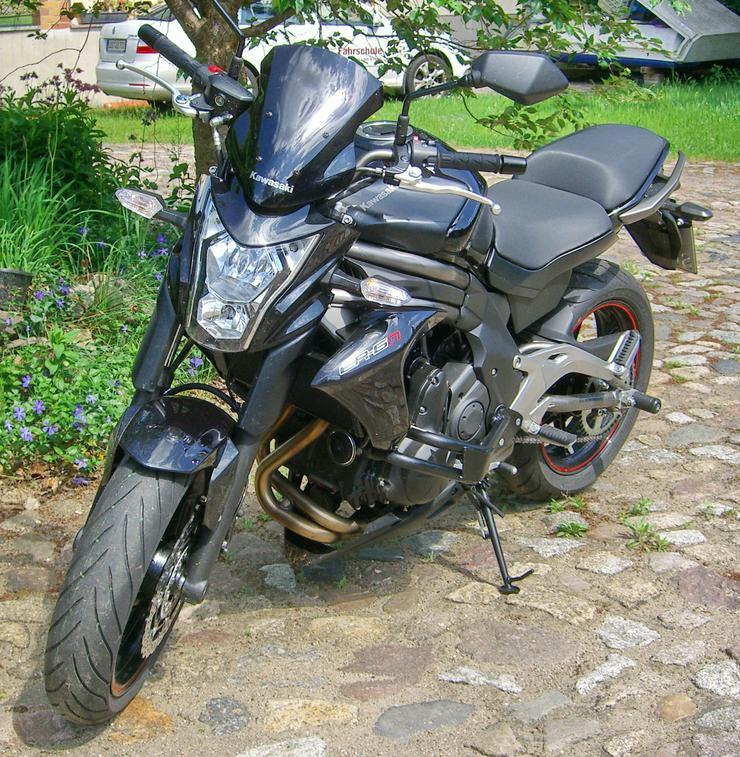 Bild 2: Motorrad Kawasaki (J)