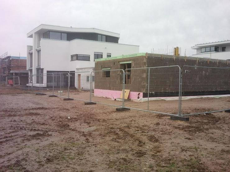 Bild 2: Bauzaun mieten oder kaufen - Mobilzaun Bauzaun für Baustellen und andere Vorhaben beit Gitter-Profi