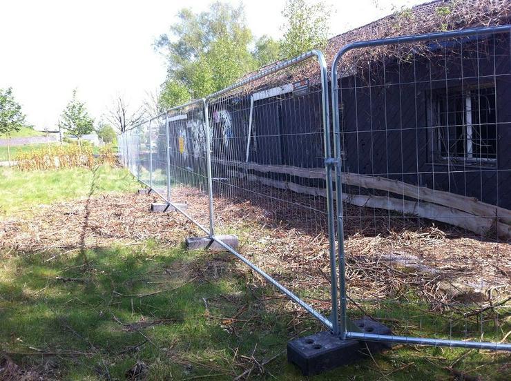 Bild 4: Bauzaun mieten oder kaufen - Mobilzaun Bauzaun für Baustellen und andere Vorhaben beit Gitter-Profi