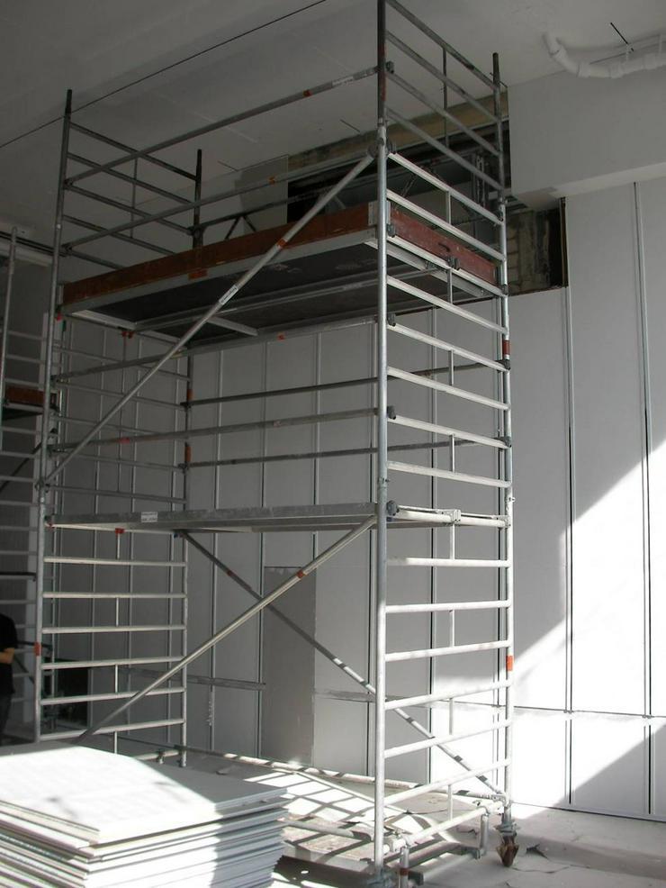 Rollgerüst - fahrbares Gerüst mieten - Baumaschinen & Baustelle - Bild 1