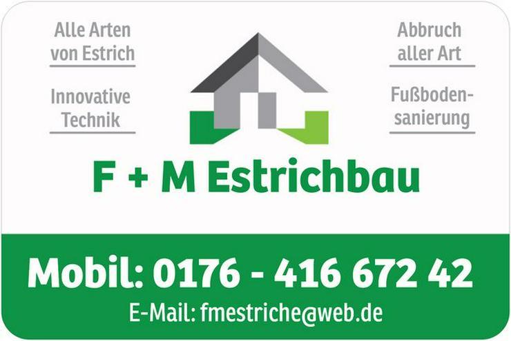 Estrich Top und Günstig - Reparaturen & Handwerker - Bild 1