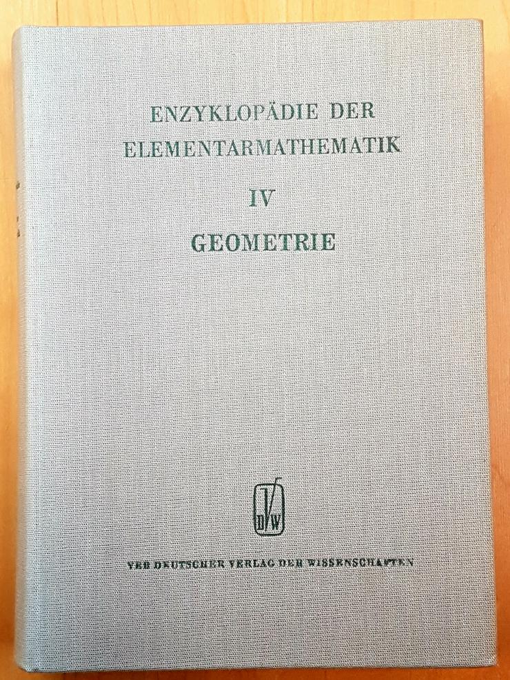 Bild 5: Enzyklopädie der Elementarmathematik. I , II, IV, V