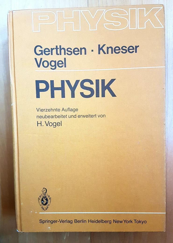 Physik Gerthsen- Kneser-Vogel - Schule - Bild 1