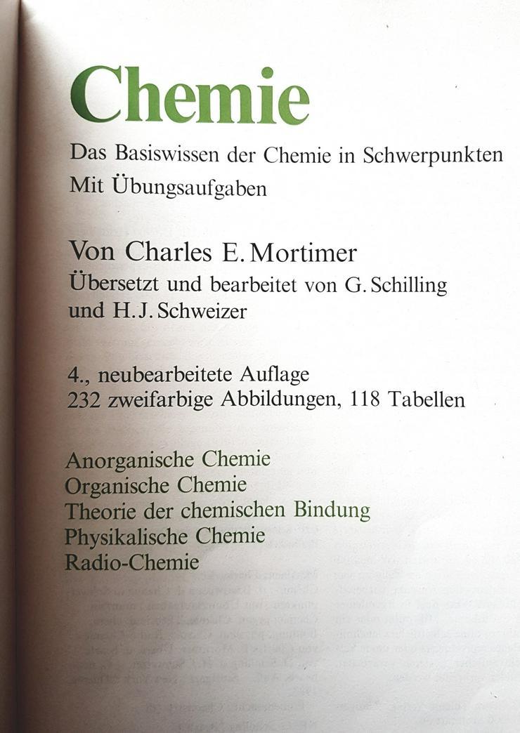 Bild 3: Chemie Basiswissen Charles E. Mortimer