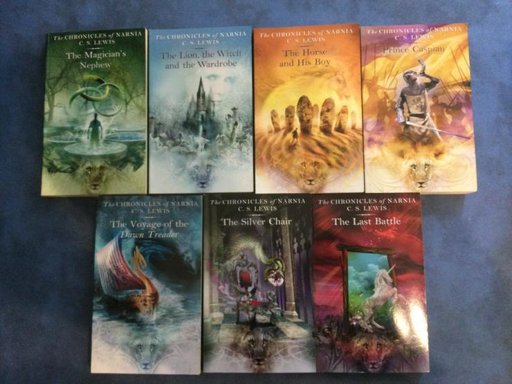 Bild 2: The Chronicles of Narnia, 7 Bücher im Schuber