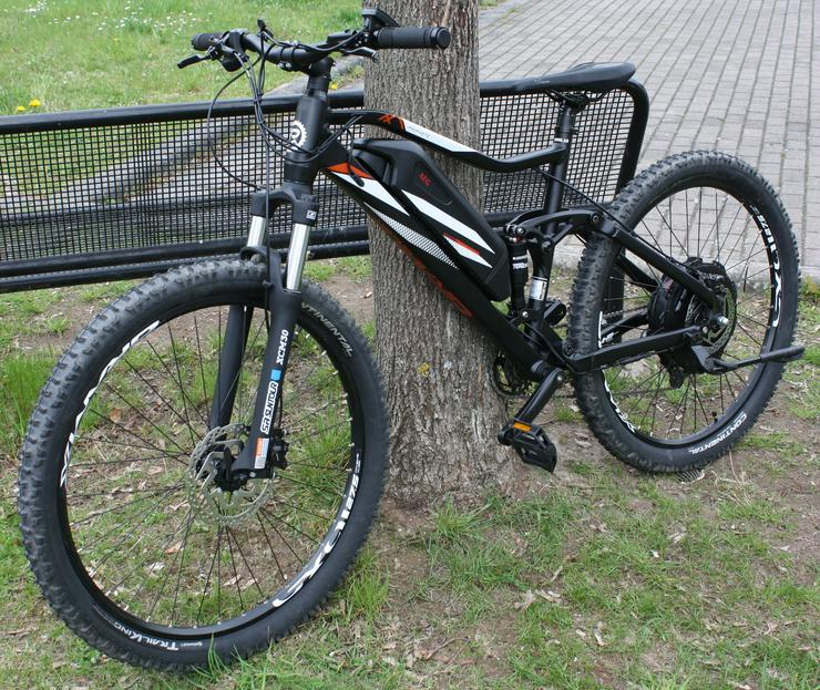 Prophete Graveler 20.emm.10 Fully E-Bike Mountainbike 27.5 650B Schwarz matt Deore AEG EasyDrive+ NEU