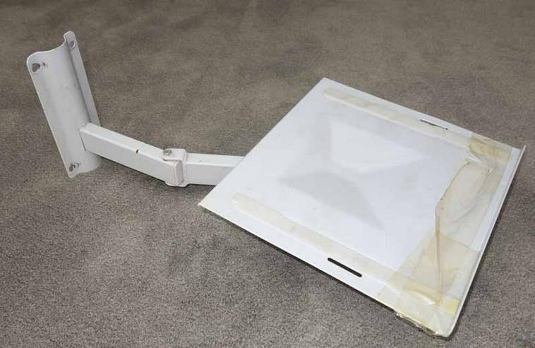 Monitor-Arm für Röhrenmonitore oder anderes, Wandhalterung.
