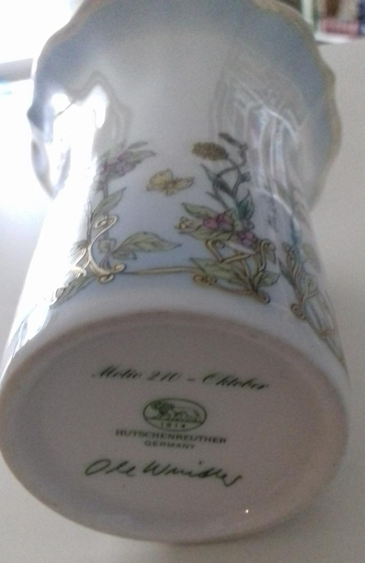 Hutschenreuther: Vase Medio 210 Oktober und Kerzenständer November: Ole Winther