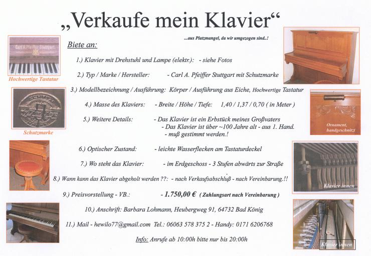 Antikes KLavier,