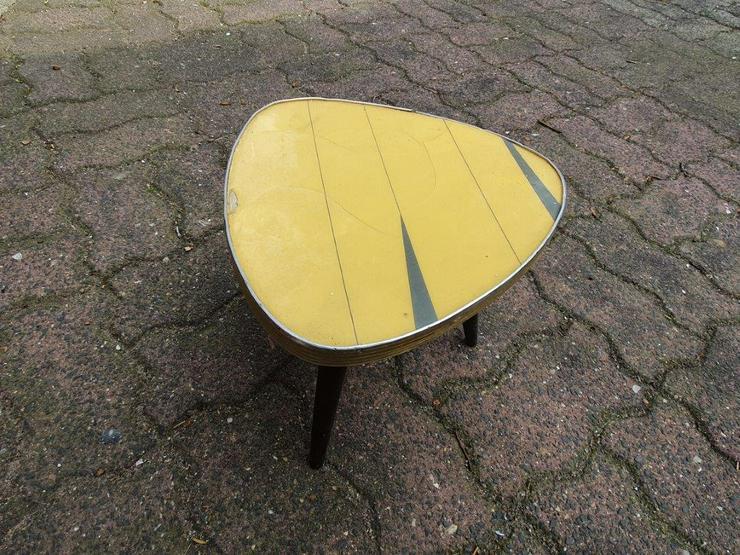2 kleine Tischchen, Vintage 1950/60er Jahre