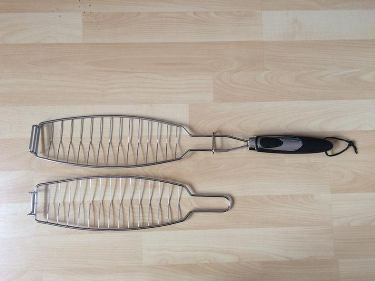 NEU Fischgriller Fischzange 2tlg.
