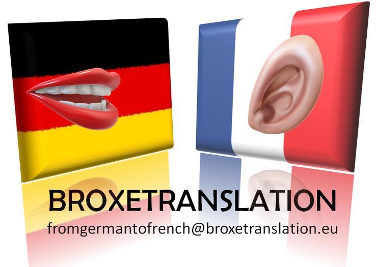 Übersetzungsdienstleistungen (DE-FR)