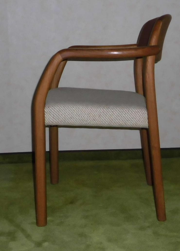 Bild 2: Orig. Holstebro Dänsiche Teak Stühle (4er)