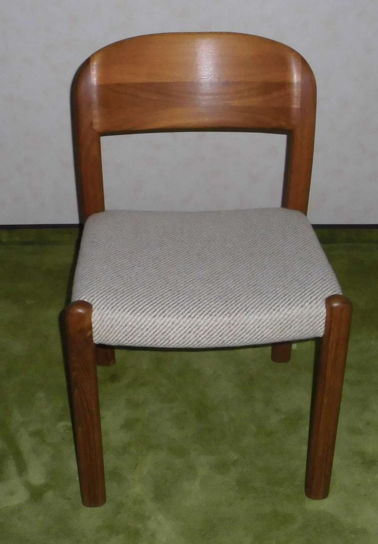 Bild 3: Orig. Holstebro Dänsiche Teak Stühle (4er)