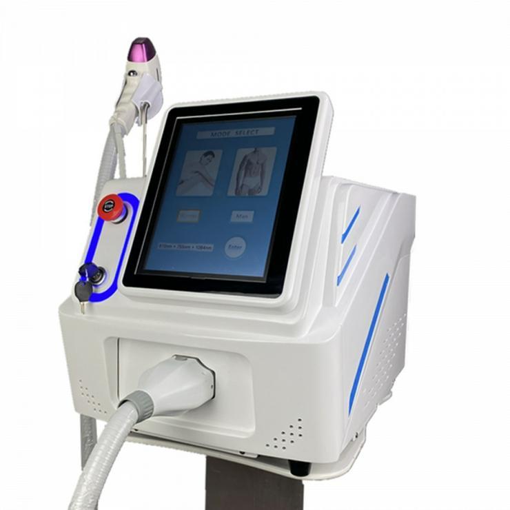 Diodenlaser SHR Laser mit ICE Freeze Kühlung und 3 Wellenlängen - Haarentfernung - Bild 1