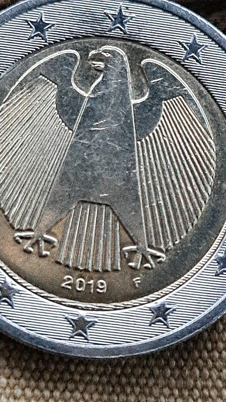 Bild 3: 2 Euro Münze 2019 Fehlprägung☆☆☆
