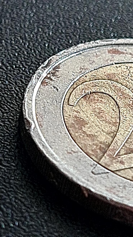 Bild 2: 2 Euro Münze 2002 Italien FEHLPRÄGUNG