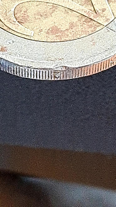 Bild 6: 2 Euro Münze 2002 Italien FEHLPRÄGUNG