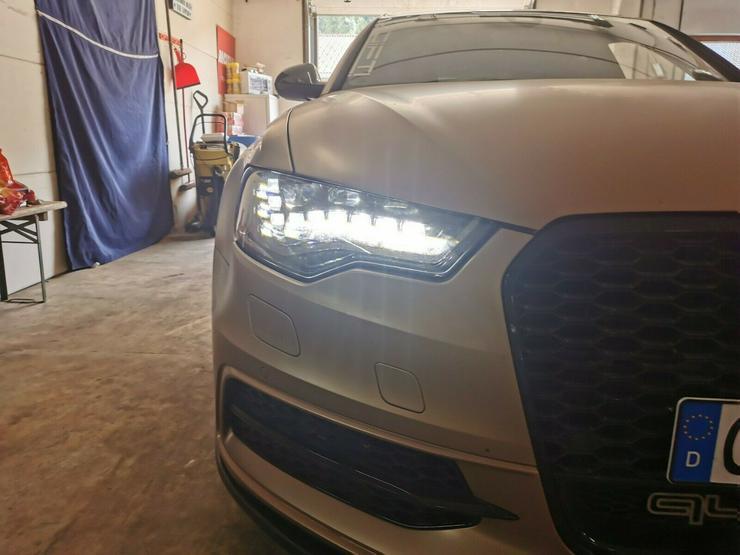Bild 2: Audi A6 S6 4G schwarze Voll Led Scheinwerfer