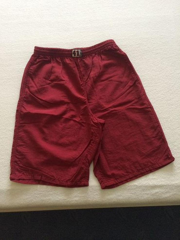 (Sport-)Bermuda Shorts Gr. 140 dunkelrot