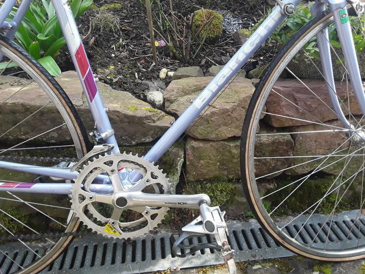 Bild 3: Rennrad - Fahrrad Bianchi 80er Jahre