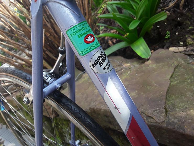 Bild 4: Rennrad - Fahrrad Bianchi 80er Jahre