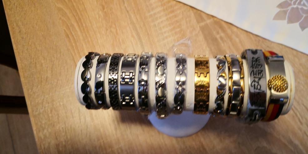 Gliederarmbander - Armschmuck - Bild 1
