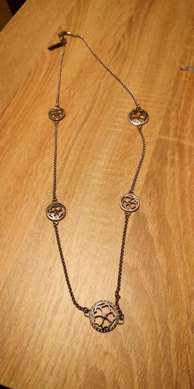 Lange Magnetkette mit Zirkonia