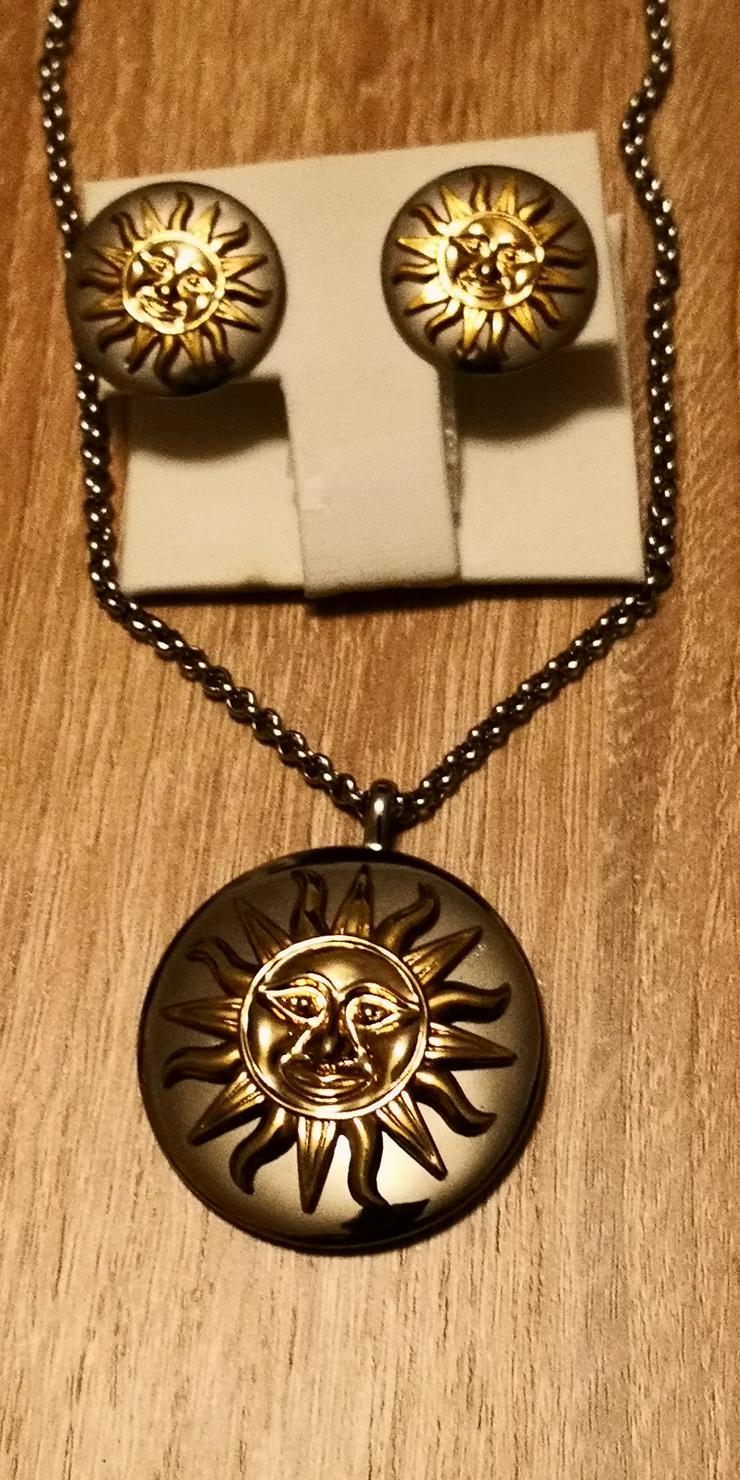 Magnetkette mit Ohrringe Sonne - Sets - Bild 1