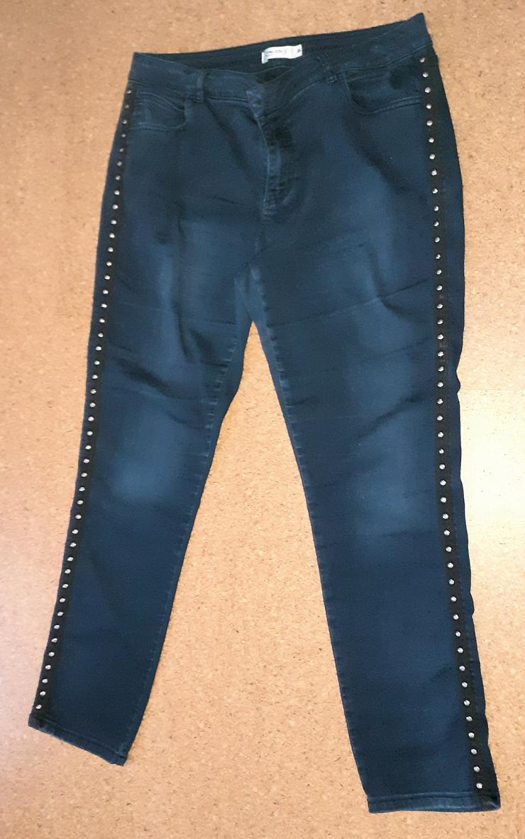 Bild 2: Damen-Jeanshose, dunkelblau, Gr. 46   von Million X  (Steger Fashion GmbH)