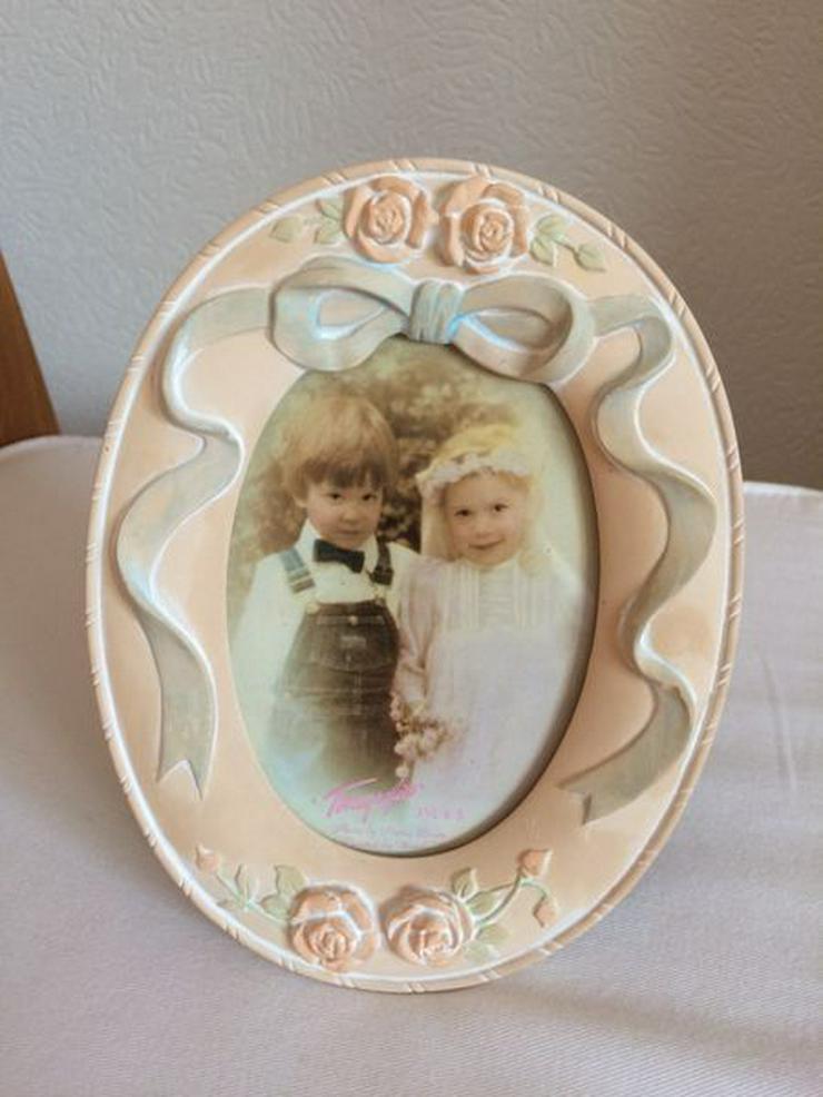 Vintage-Bilderrahmen oval NEU