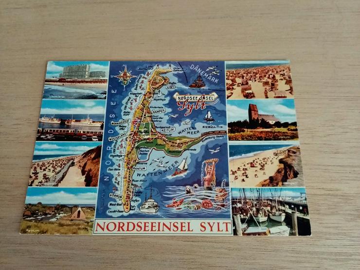 Postkarte 286-427. Insel Sylt