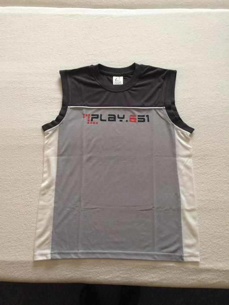 T-Shirt Muskelshirt Gr. 164 NEU