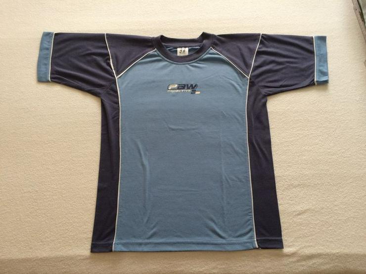 T-Shirt Gr. 164 blau, neuwertig