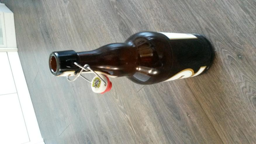 2,0 Liter - Bieflasche mit Verschluß
